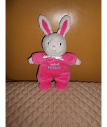 Carter's Just One You My First 1st Easter Pink White Bunny Rabbit Plush ... - $29.69
