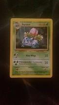 Ivysaur Uncommon Base Set Pokemon Card 30/102 Near Mint Condition - $2.00