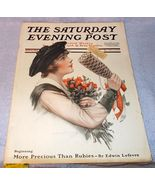 Vintage Saturday Evening Post November 9 1918 J Knowles Hare Cover - $35.00