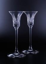 "Vera Wang Wedgwood ""Duchesse"" Candlestick Pair Lead Crystal Made In Germanu New - $174.90"