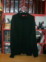 JACKET (MENS): IZOD Fleece XL Black 92% Cotton/8% Poly - $12.99