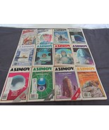 Isaac Asimov's Science Fiction Magazine Lot of 12 from 1981 - $18.89