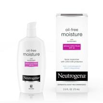 Neutrogena Oil Free Facial Moisturizer with SPF 35 Sunscreen, 2.5 fl. oz.. - $20.78