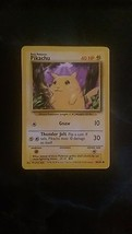 "Pikachu Common Mint Condition ""Yellow Cheeks"" Base Set Pokemon Card 58/102 - $5.99"