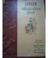 Vintage Singer Make Over Guide 1942 - $3.99