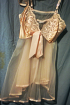 Lingerie -  Chemise - Size Large- Cotton Candy - $30.00