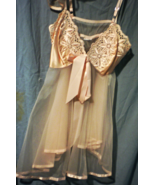 Lingerie -  Chemise - Size Large- Cotton Candy - $25.00