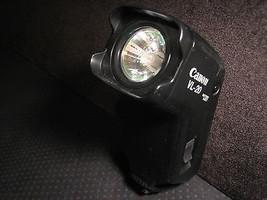 Canon VL-20 video camera camcorder flash light, no battery - $14.65