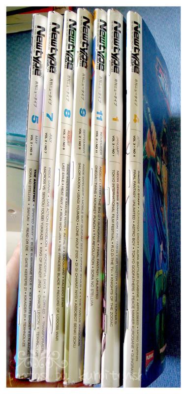 NEWTYPE Magazines x7