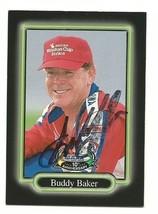 1998 BUDDY BAKER UPPER DECK MAXX RACE CARDS 10TH ANNV TRADING CARD #112 ... - $9.99