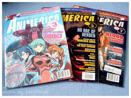Animerica Magazine x3 - $4.00