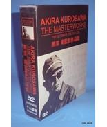 """""""Akira Kurosawa"""" The Masterworks The Ultimate Collection, 18DVDs Box Set... - $57.92"""