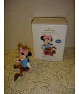 Hallmark 2012 Tangled Up In Fun Minnie Mouse Disney Ornament - $12.99