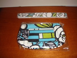 Vera Bradley Island Blooms Clip Zip ID Case And Nail File - $27.99