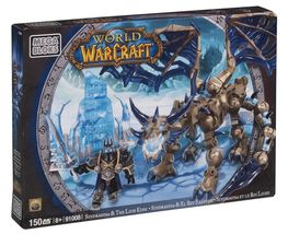 Mega Bloks® World of Warcraft Sindragosa & Arthas The Lich King - Brand New - $29.99