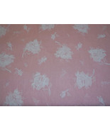 Cotton Fabric Pink with Wlhite - $10.00