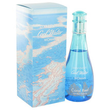 Cool Water Coral Reef - 3.4 oz Eau De Toilette Spray Perfume by Davidoff  - $35.98