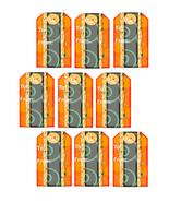 Halloween To and From Tag-ClipArt-Digital Art Clip-Digital. - $4.00