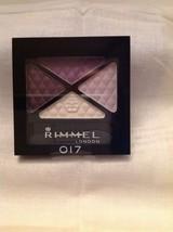 Make Up Glam Eyes Quad Violet Purple Dark Signature 017 - $3.85