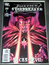 Comics   Dc   Justice League Of America   Starbreaker   Face Of Evil   Mar '09 # - $8.00