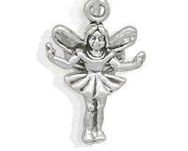 .925 Sterling Silver - Fairy Charm - $8.00