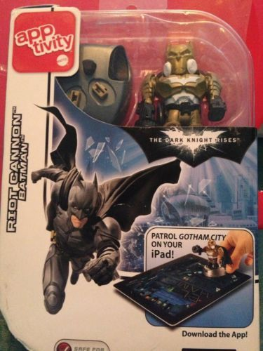 Primary image for apptivity -BATMAN Riot Cannon -for iPad - NEW in Package