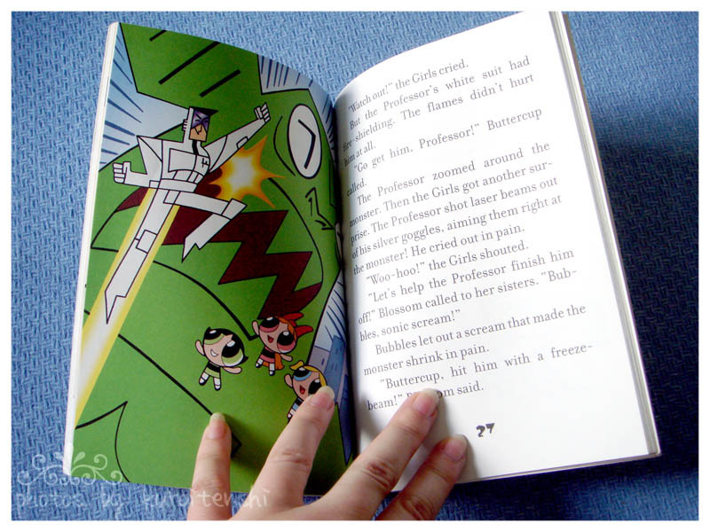 Powerpuff Girls Novel