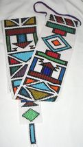 Ndebele Beaded Wall Hanging (Large) South Africa - $108.00