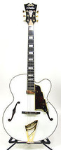 D'Angelico EXL-1 Standard Series Archtop Electric Guitar - White Finish ... - $1,299.00