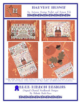Harvest Huswif cross stitch chart Blue Ribbon Designs  - $12.60