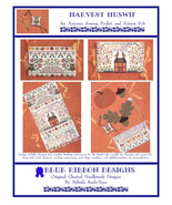 Harvest Huswif cross stitch chart Blue Ribbon Designs  - $12.60