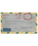 Brazil Registered Commercial Meter Cover Sao Paolo to US 1950 - $4.99