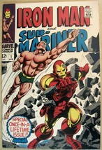 Iron Man & SUB-MARINER# 1 Apr 1968 1st One Shot Colan Cover/Art Key: 9.6 Nm+. - $1,200.00