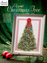 Elegant Christmas Tree cross stitch book Annie's Publications - $8.00