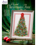 Elegant Christmas Tree cross stitch book Annie's Publications - $8.00