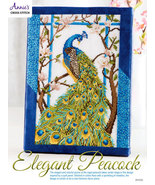 Elegant Peacock cross stitch chart Annie's Publications - $8.00