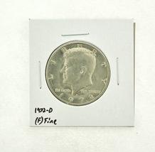 1972-D Kennedy Half Dollar (F) Fine N2-3610-7 - $0.89