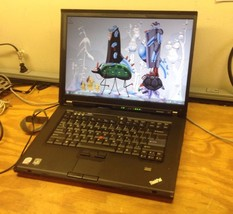 Lenovo T61Core 2 Duo Laptop in Great Working Condition - $168.30