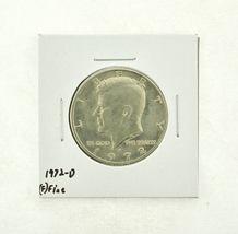 1972-D Kennedy Half Dollar (F) Fine N2-3610-12 - $0.89