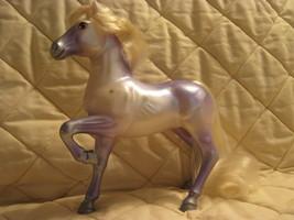 horse,purple/silver - $8.00
