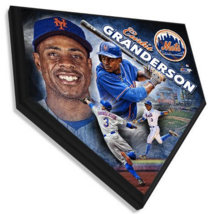 """Curtis Granderson New York Mets 11.5"""" x 11.5"""" Home Plate Plaque  - $40.95"""