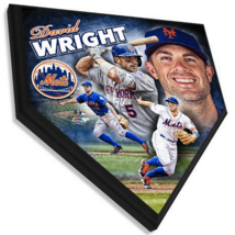 """David Wright New York Mets 11.5"""" x 11.5"""" Home Plate Plaque  - $41.95"""