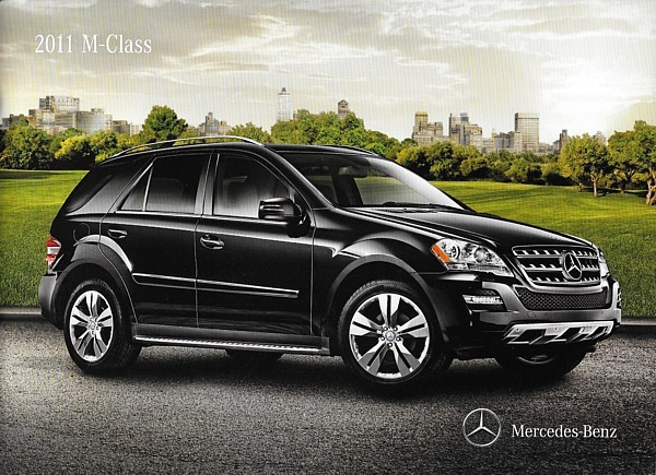 Primary image for 2011 Mercedes-Benz M-CLASS brochure catalog US 11 ML 350 BlueTEC 550 ML63 AMG