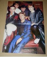 Duran Duran Magazine Photo Poster Clipping Vintage 1980's - $12.99