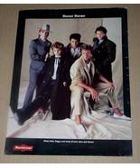 Duran Duran RockLine Magazine Photo Clipping Vintage 1980's - $12.99