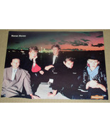 Duran Duran RockLine Magazine Photo Clipping Vintage 1980's Group Pose - $12.99