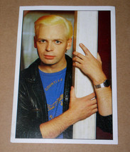 Gary Numan Smash Hits Collection 1987 Panini Sticker #118 - $12.99
