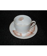 Fitz & Floyd Coquille cup and saucer - $6.88