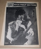 Prince Magazine Photo Clipping Vintage 1980's - $12.99