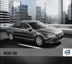 2011 Volvo S80 sales brochure catalog 1st Edition 11 US V8 T6 3.2 - $10.00